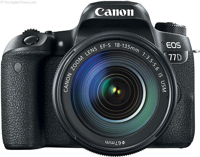 Canon EOS 77D Front