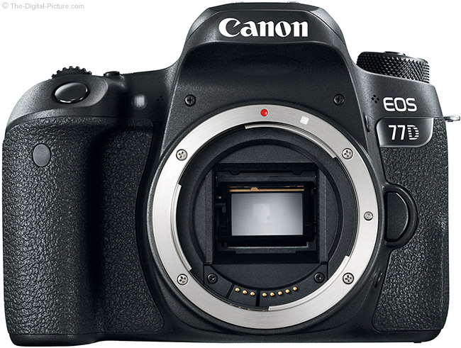 Canon EOS 77D with No Lens