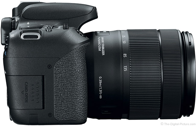 Canon EOS 77D Right Side