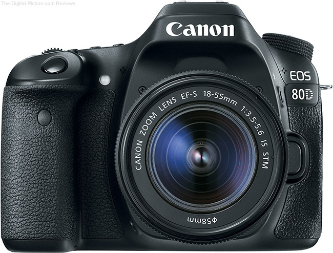 Canon EOS 80D Front View