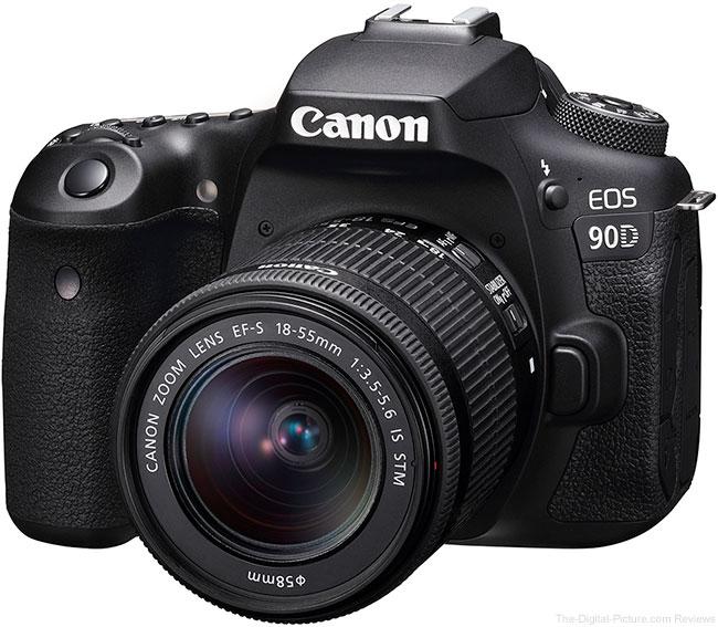 Canon EOS 90D Angle