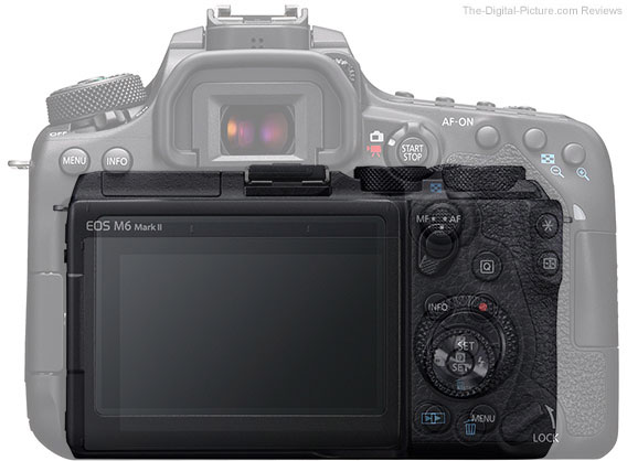 Canon EOS 90D Compared to the Canon EOS M6 Mark II