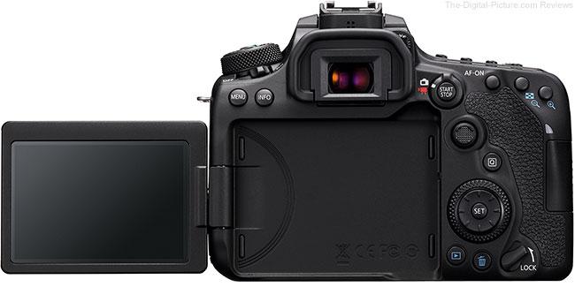 Canon EOS 90D LCD Open
