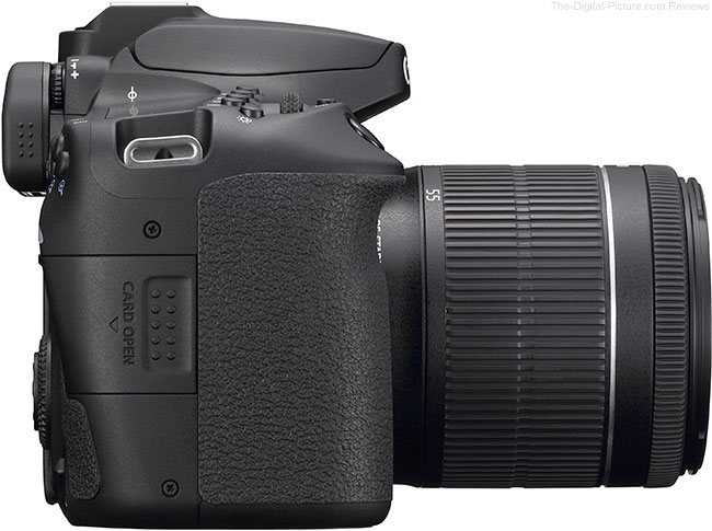 Canon EOS 90D Right Side