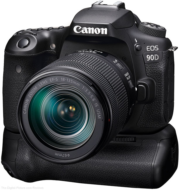 Canon EOS 90D with BG-E14 Grip