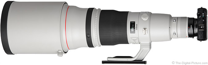 Canon EOS M with EF 600mm L II IS Lens