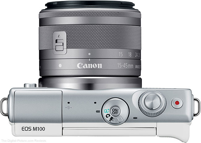 Canon EOS M100 with EF-M 15-45mm Lens