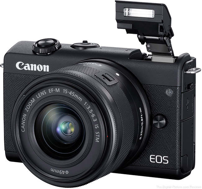 Canon EOS M200 Flash Up