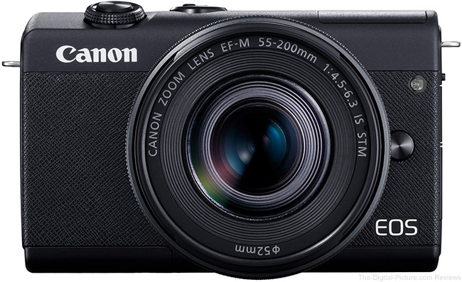 Canon EOS M200 Front