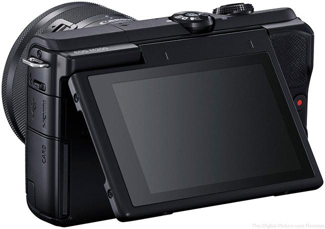 Canon EOS M200 Rear Angle