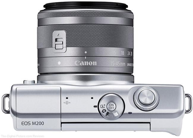 Canon EOS M200 Top