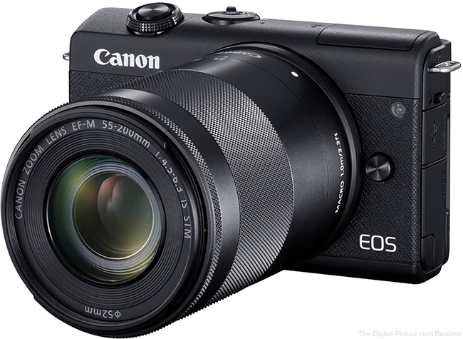 Canon EOS M200 with 55-200mm Lens