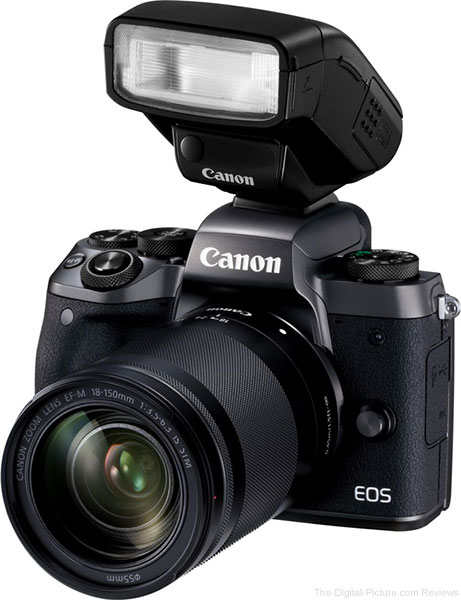 Canon EOS M5 with Flash