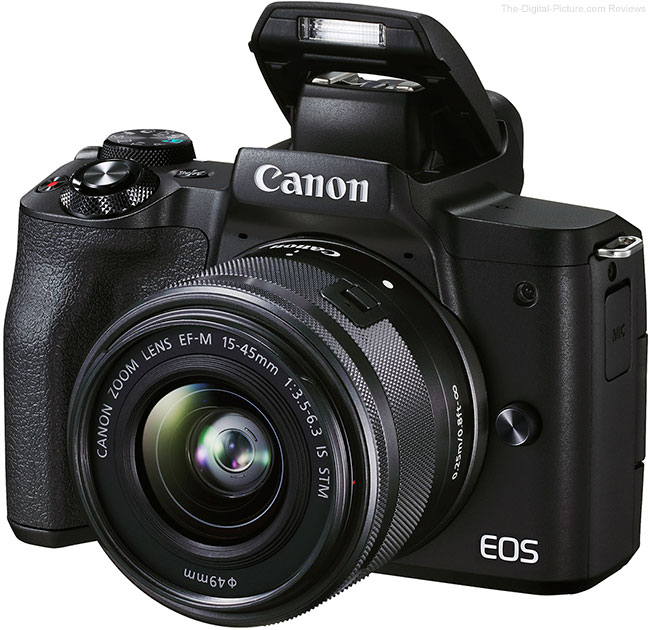 Canon EOS M50 Mark II Flash Up