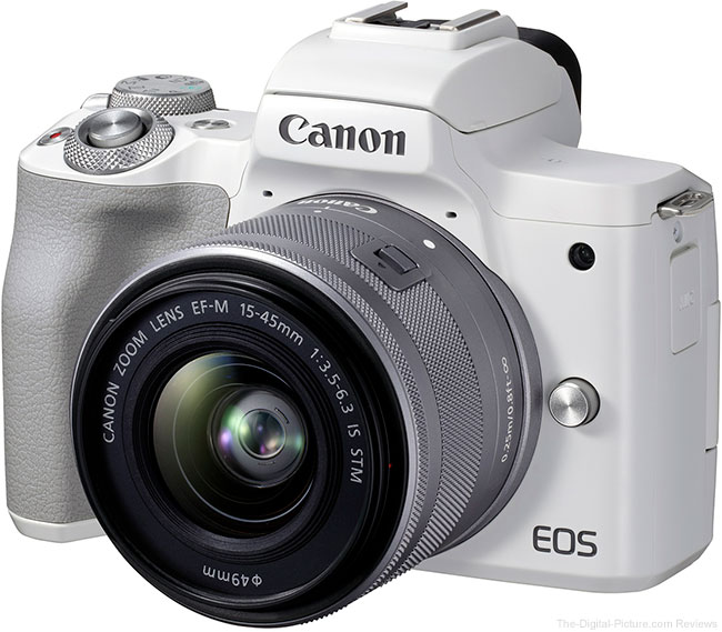 Canon EOS M50 Mark II White