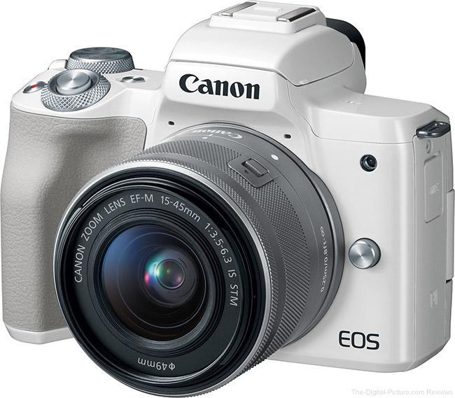 Canon EOS M50 Angle