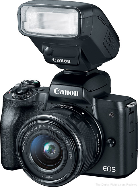 Canon EOS M50 with Flash