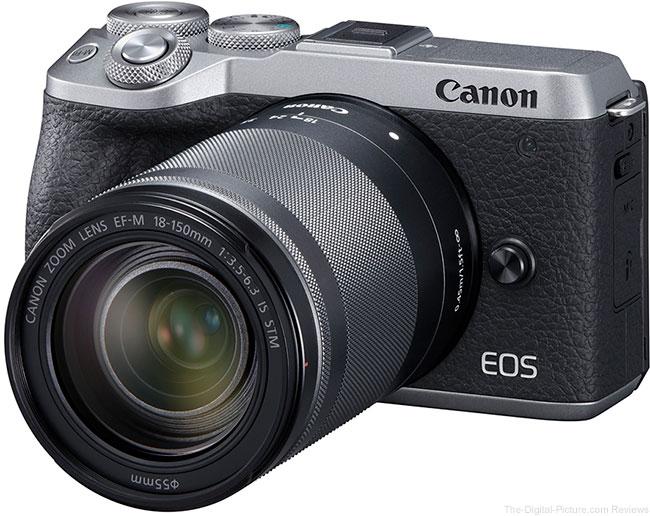 Canon EOS M6 Mark II Angle