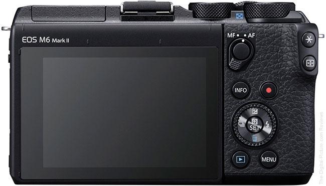 Canon EOS M6 Mark II Back