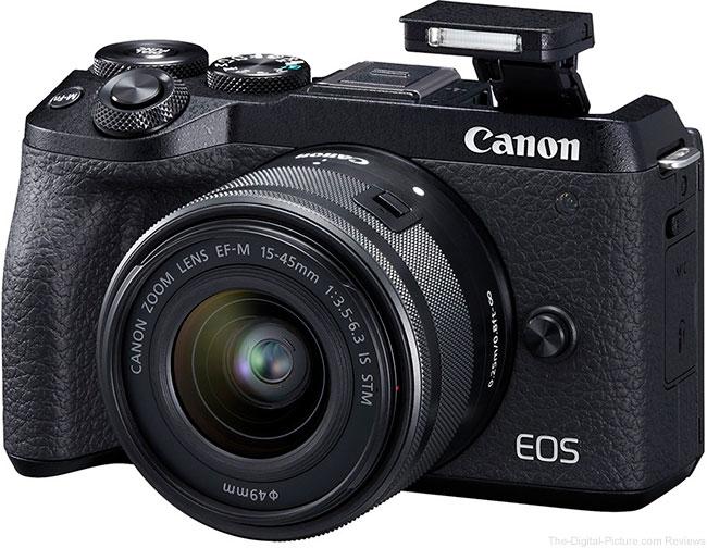 Canon EOS M6 Mark II Flash Up