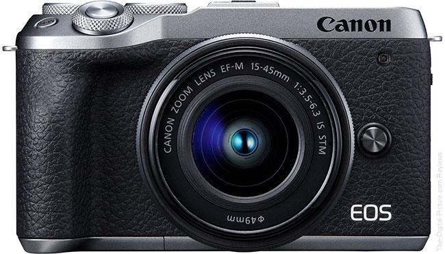 Canon EOS M6 Mark II Front Silver