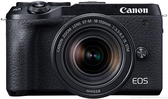 Canon EOS M6 Mark II Camera Front