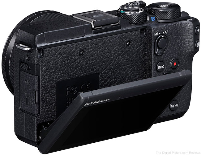 Canon EOS M6 Mark II LCD Open