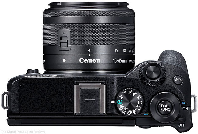 Canon EOS M6 Mark II Top