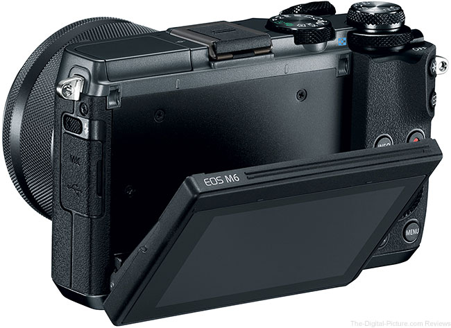Canon EOS M6 LCD Out