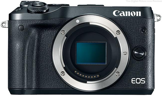 Canon EOS M6 No Lens