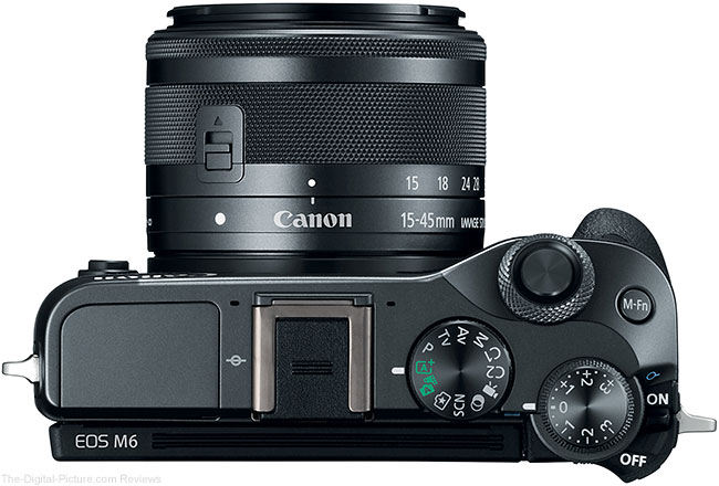 Canon EOS M6 with EF-M 15-45mm Lens