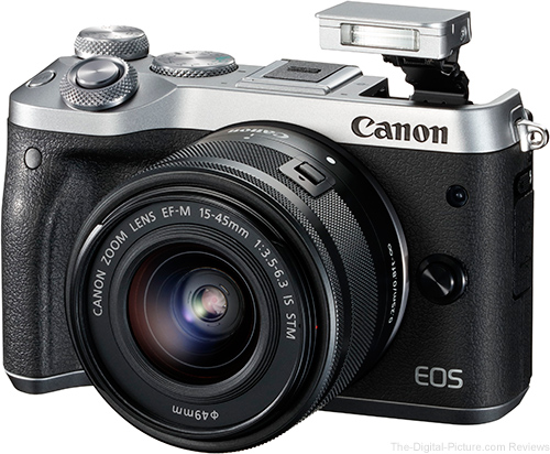 Canon EOS M5 with Pop-Up Flash