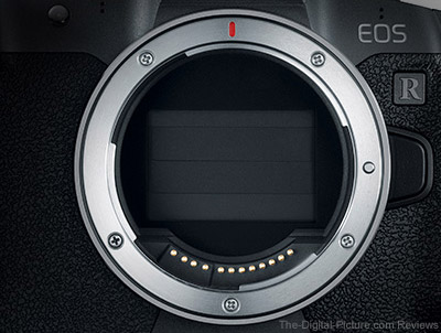 Canon EOS R Shutter Curtain Closed