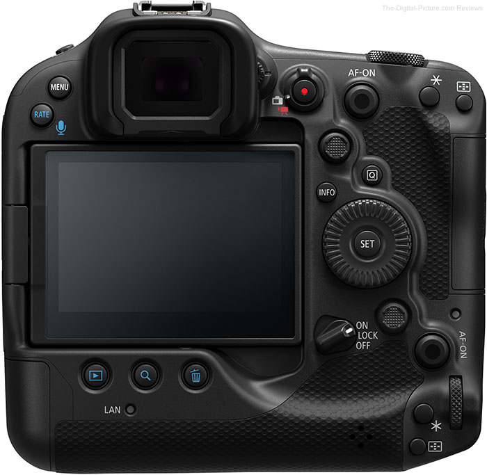 Canon EOS R3 Information Reveal