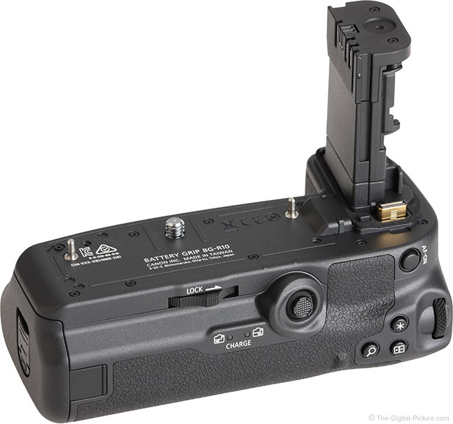 Canon BG-R10 Battery Grip Back