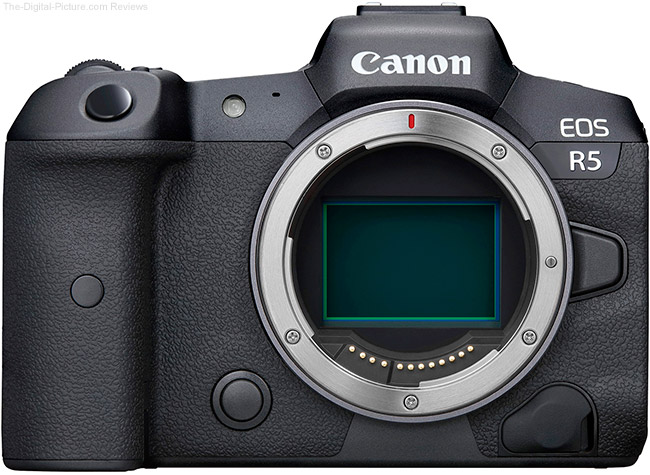 Back In Stock: The Canon EOS R5 Body at Amazon!