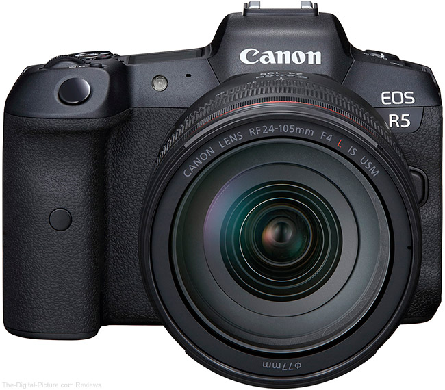Canon EOS R5 Owner's Manual Now Available for Download