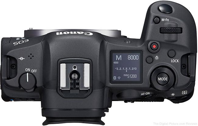 Canon EOS R5 Top