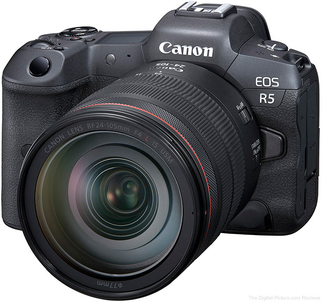 Canon EOS R5 Firmware Update Version 1.1.1 Now Available