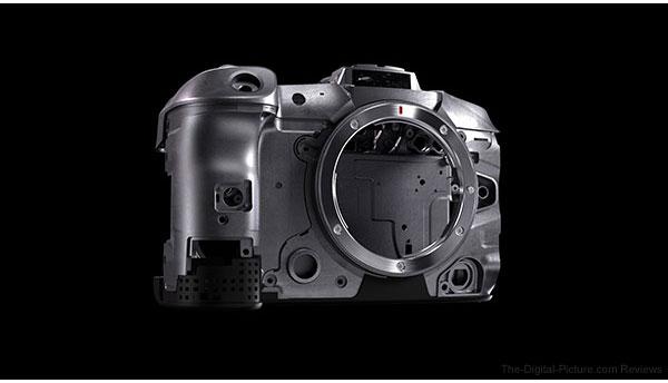 Canon EOS R6 Magnesium Alloy Frame