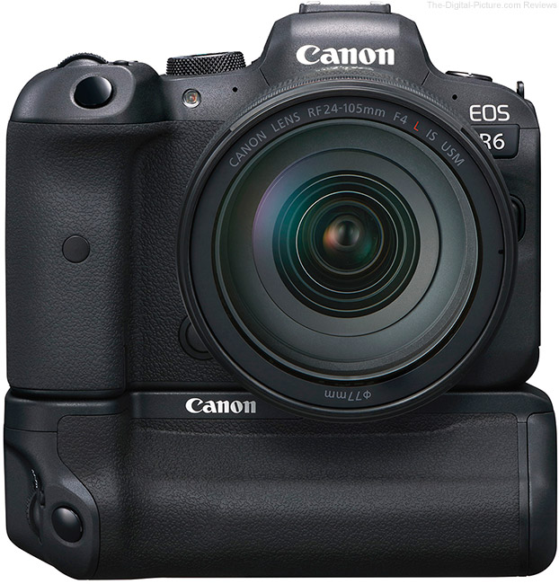 Canon EOS R6 with Battery Grip