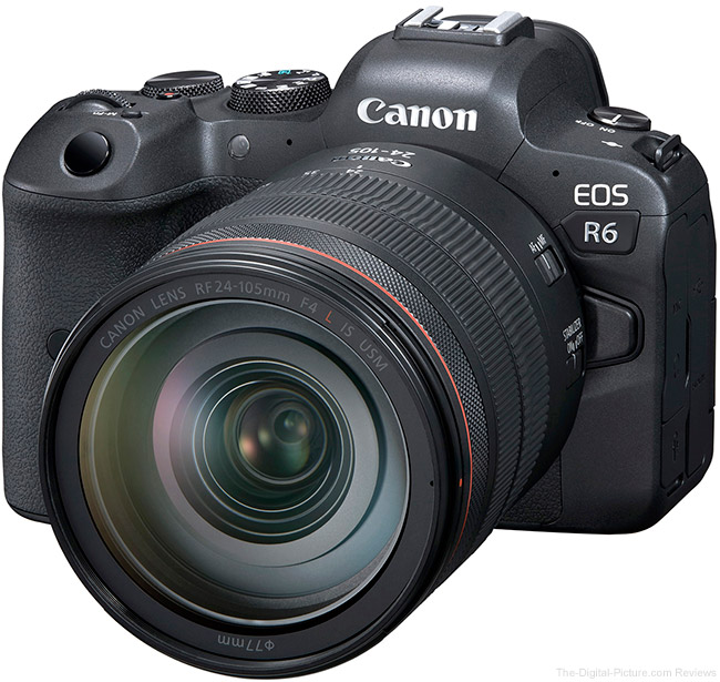 Canon EOS R6 Firmware Update Version 1.1.1 Now Available