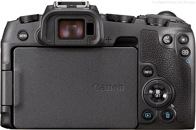 Canon EOS RP LCD Closed
