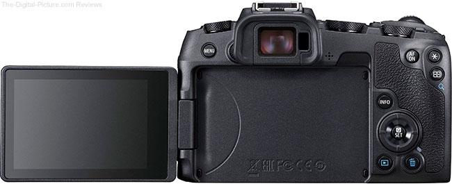 Canon EOS RP LCD Open