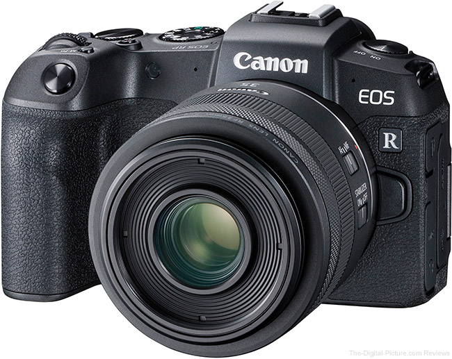 Canon EOS RP with RF 35mm f/1.8 IS Lens