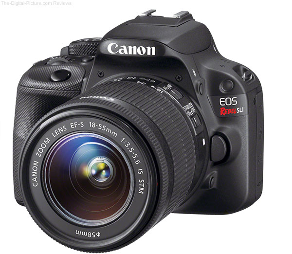 Canon EOS Rebel SL1 Compared to Rebel T5i