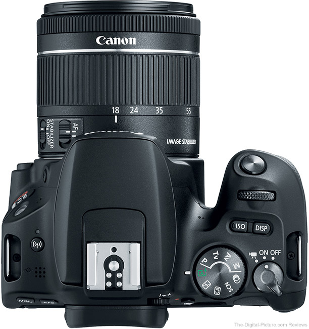 Canon EOS Rebel SL2 Top