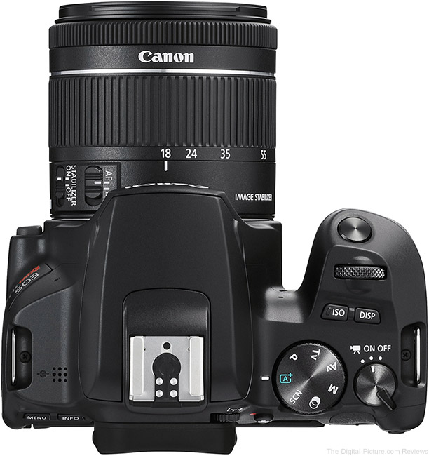 Canon EOS Rebel SL3 Top