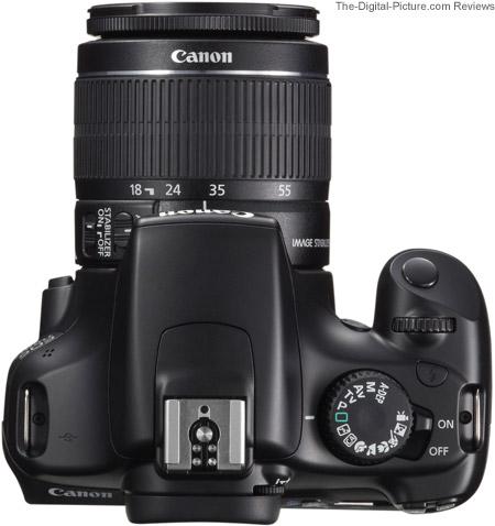 Canon EOS Rebel T3 / 1100D Top
