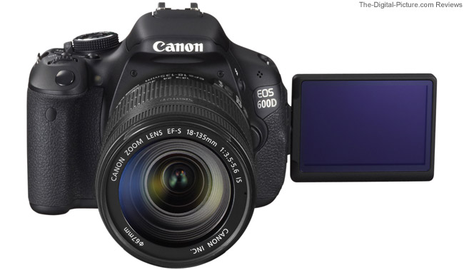 Canon EOS Rebel T3 Camera Vista